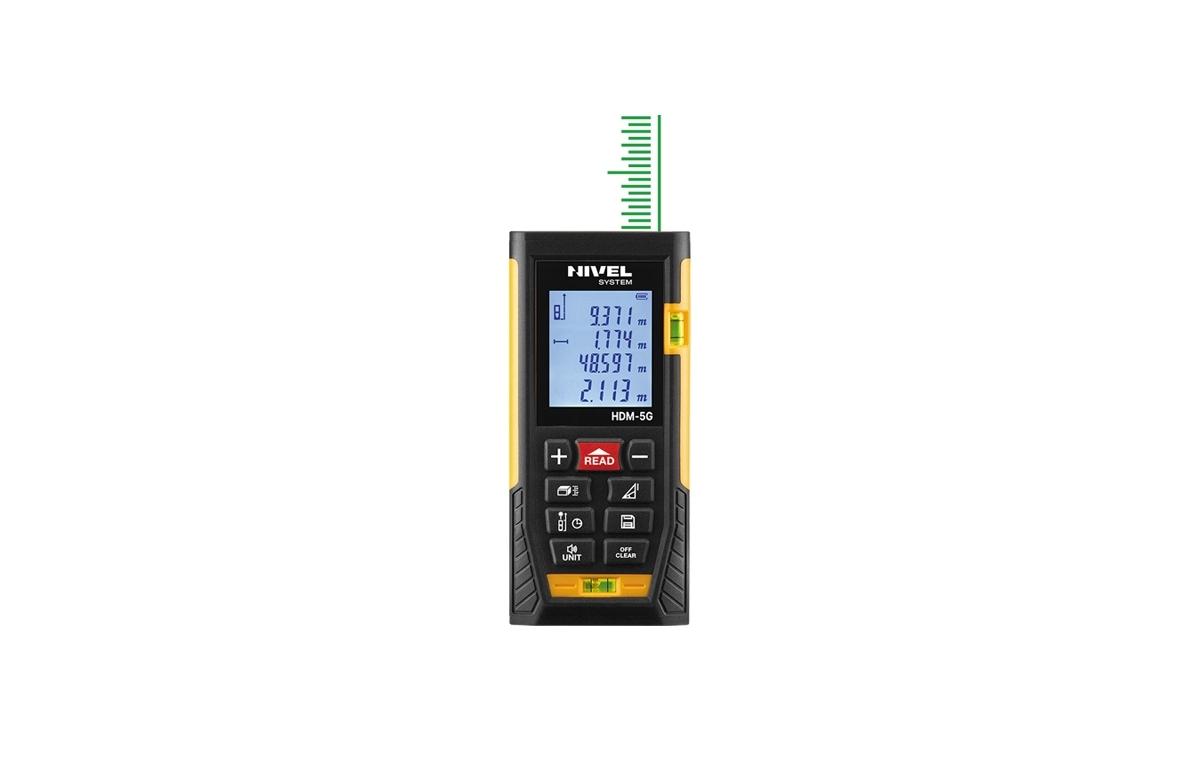 Laser Αποστασιόμετρο Nivel HDM-5G